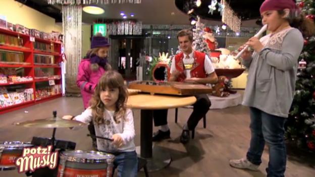 Video «Sennsationell: Im Spielwarenladen» abspielen