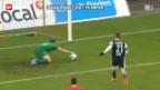 Video «Schweizer Cup: Black Stars - Zürich» abspielen