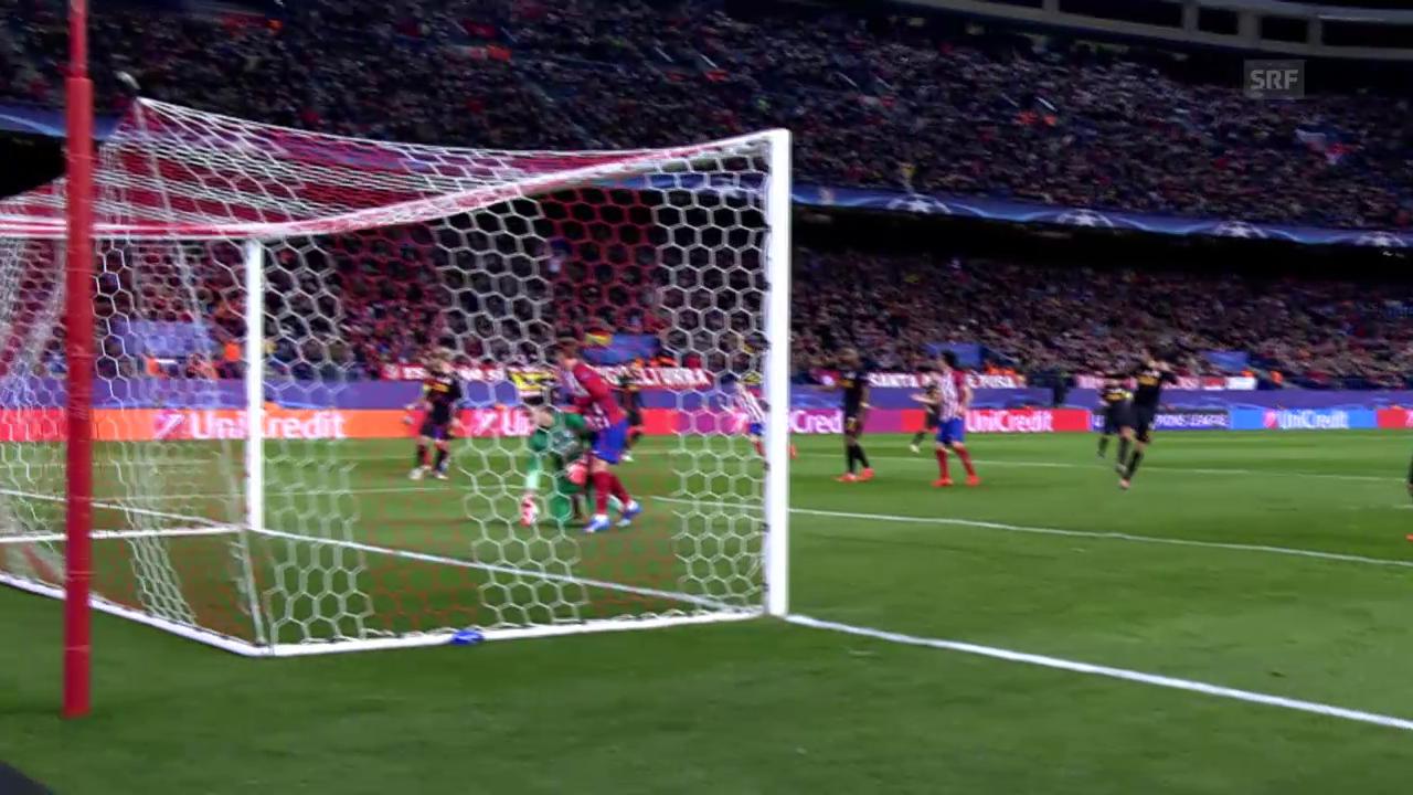 Fussball: Champions League 2015/16, 5. Runde, Atletico - Galatasaray