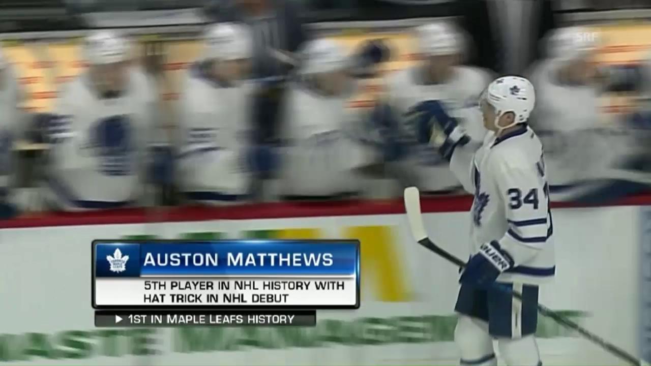 Matthews' Debüt für die Geschichtsbücher