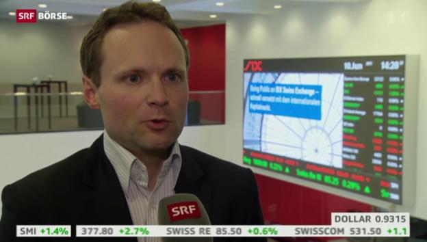 Video «SRF Börse vom 10.06.2015» abspielen