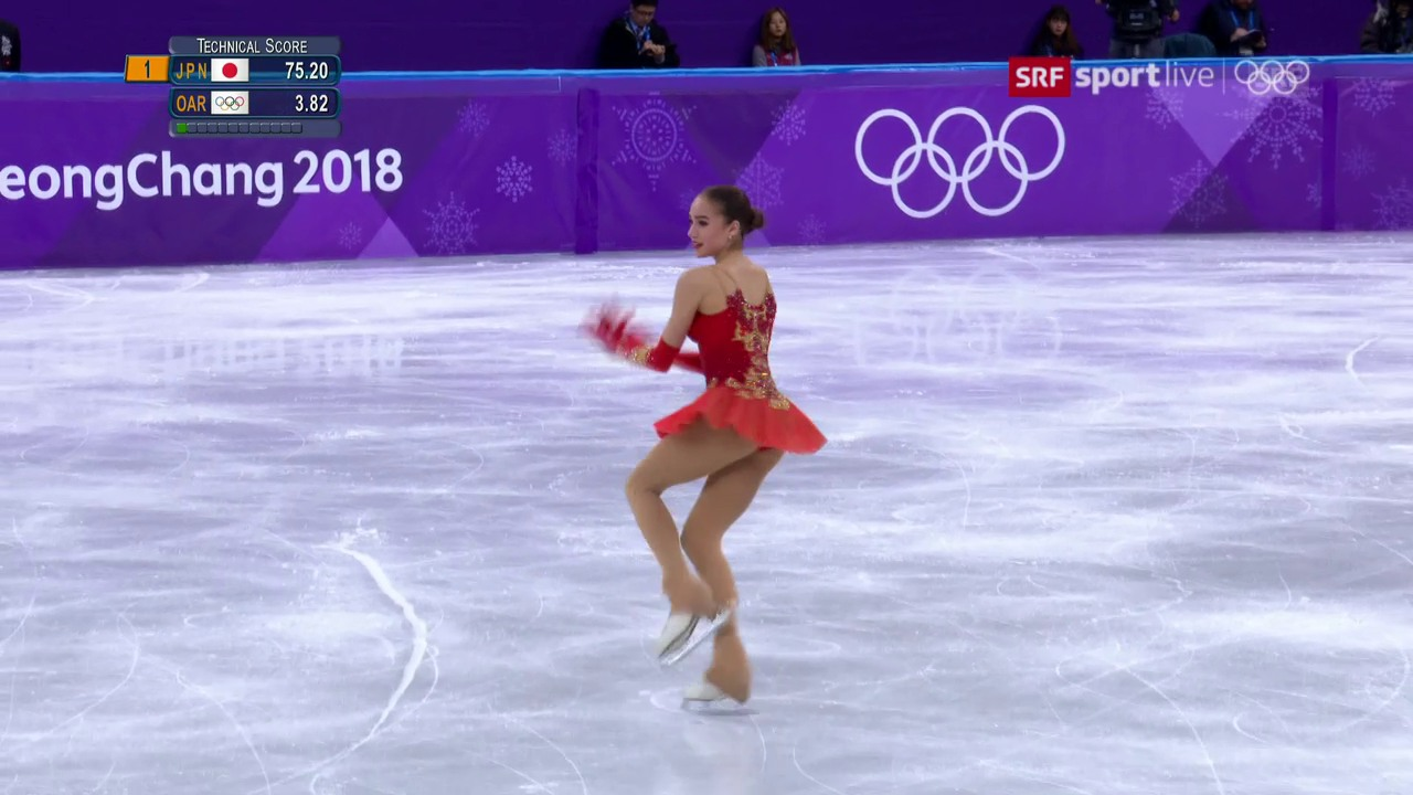 Eiskunstläuferin Sagitowa holt erstes Gold für Russland