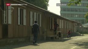 Video «Weniger Asylgesuche in der Schweiz» abspielen