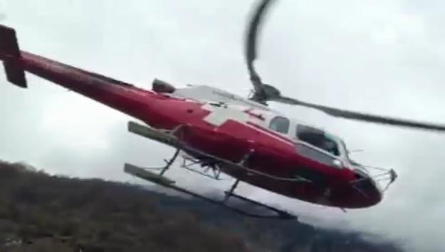 Video «Claudio Zuccolini fliegt hoch hinaus.» abspielen