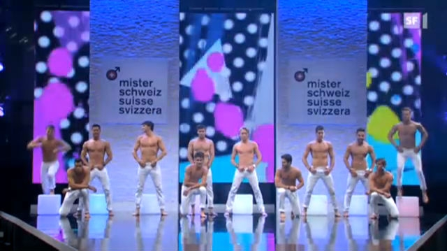 Mister-Schweiz-Wahl: Die grosse Show