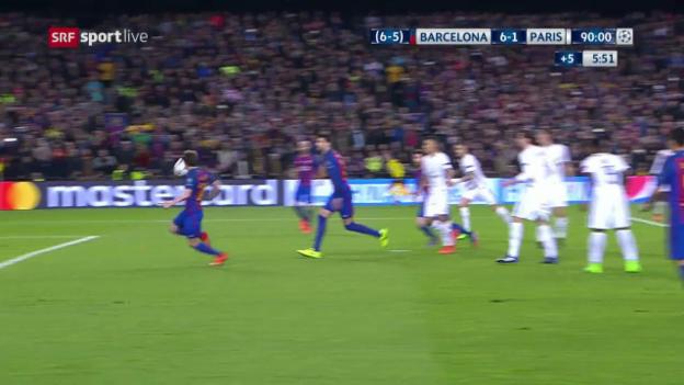 Video «3 Barcelona-Tore in der Schlussphase» abspielen