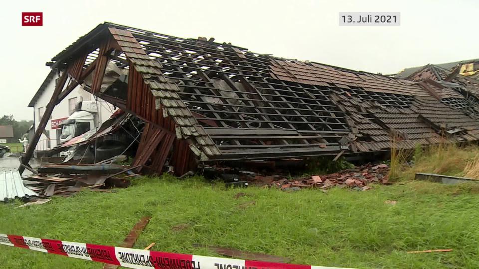 Schadenbilanz der Gebäudeversicherungen vom Unwettersommer