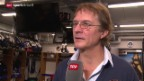 Video «Eishockey: NLA, 15. Runde, Interview Del Curto» abspielen