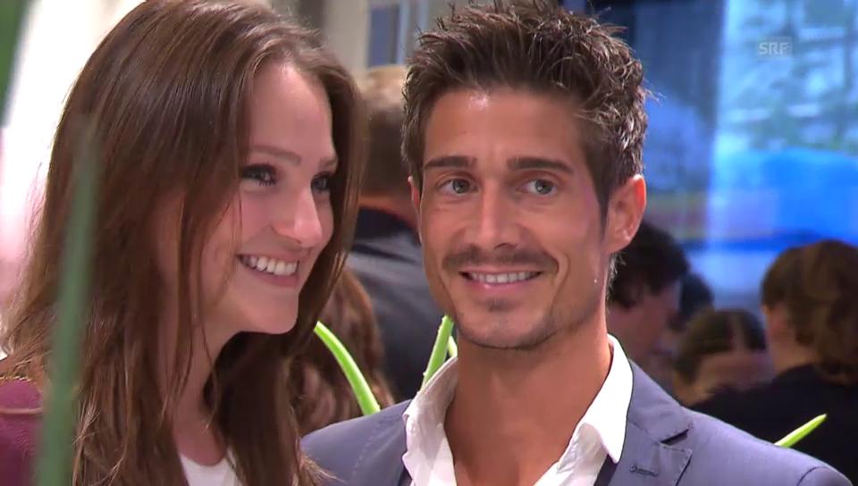 Tobias Müller und seine neue Freundin Michèle (unkomm.)