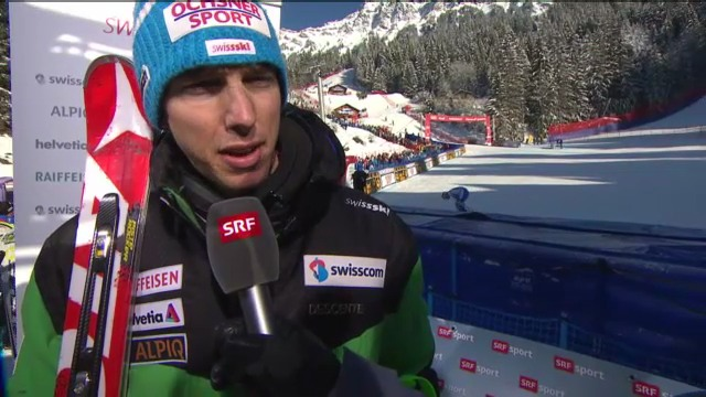 Ski alpin: Interview mit Carlo Janka