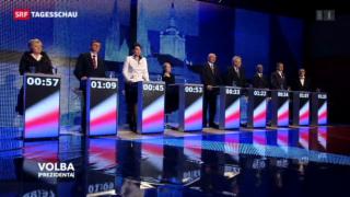 Video «Präsidenten-Wahl Tschechien» abspielen