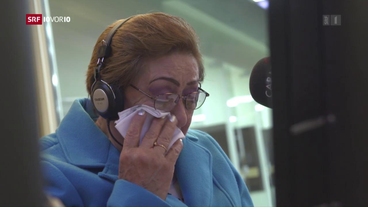 Radio als Hoffnungsträger für Geiseln