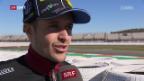 Video «Tom Lüthi schaut in Valencia zu» abspielen