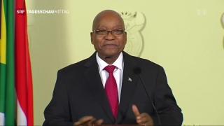 Video «Zuma tritt ab» abspielen