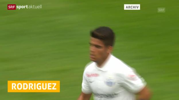 Video «Fussball: Francisco Rodriguez spielt für die U21-Nati» abspielen