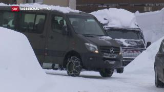 Video «Sicherheit am WEF in Davos» abspielen