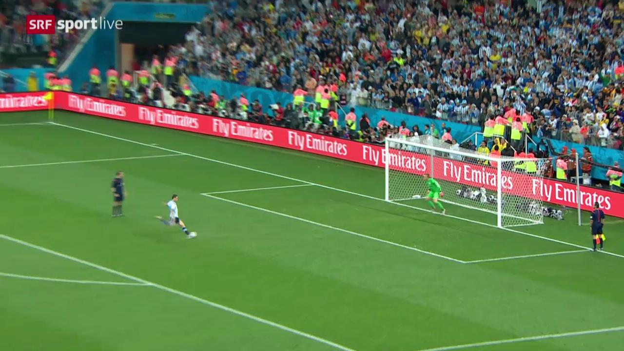 Niederlande - Argentinien: Das Penaltyschiessen