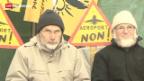 Video «Bevölkerung ist gegen Flughafen in Frankreich» abspielen