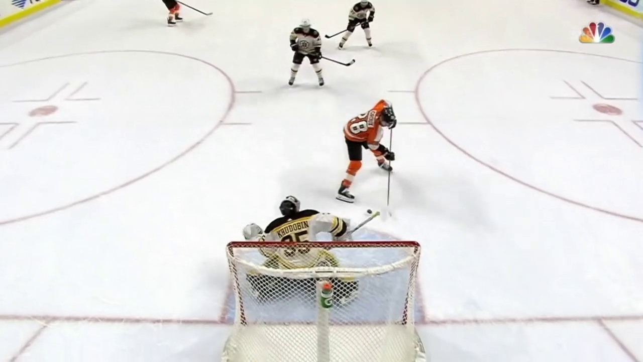 Claude Giroux' Overtime-Siegtreffer gegen Boston