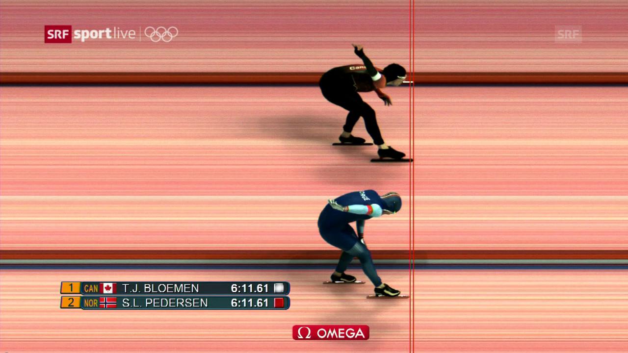 Dank zwei Tausendsteln zu Olympia-Silber