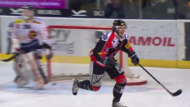 Eishockey: Julien Sprungers Tor gegen den SCB