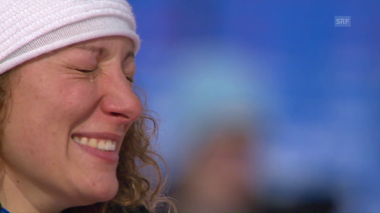 Stuhec kürt sich in St. Moritz zur Speed-Königin