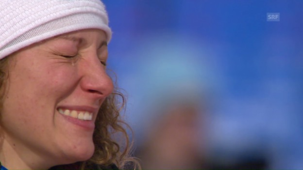 Video «Stuhec kürt sich in St. Moritz zur Speed-Königin» abspielen
