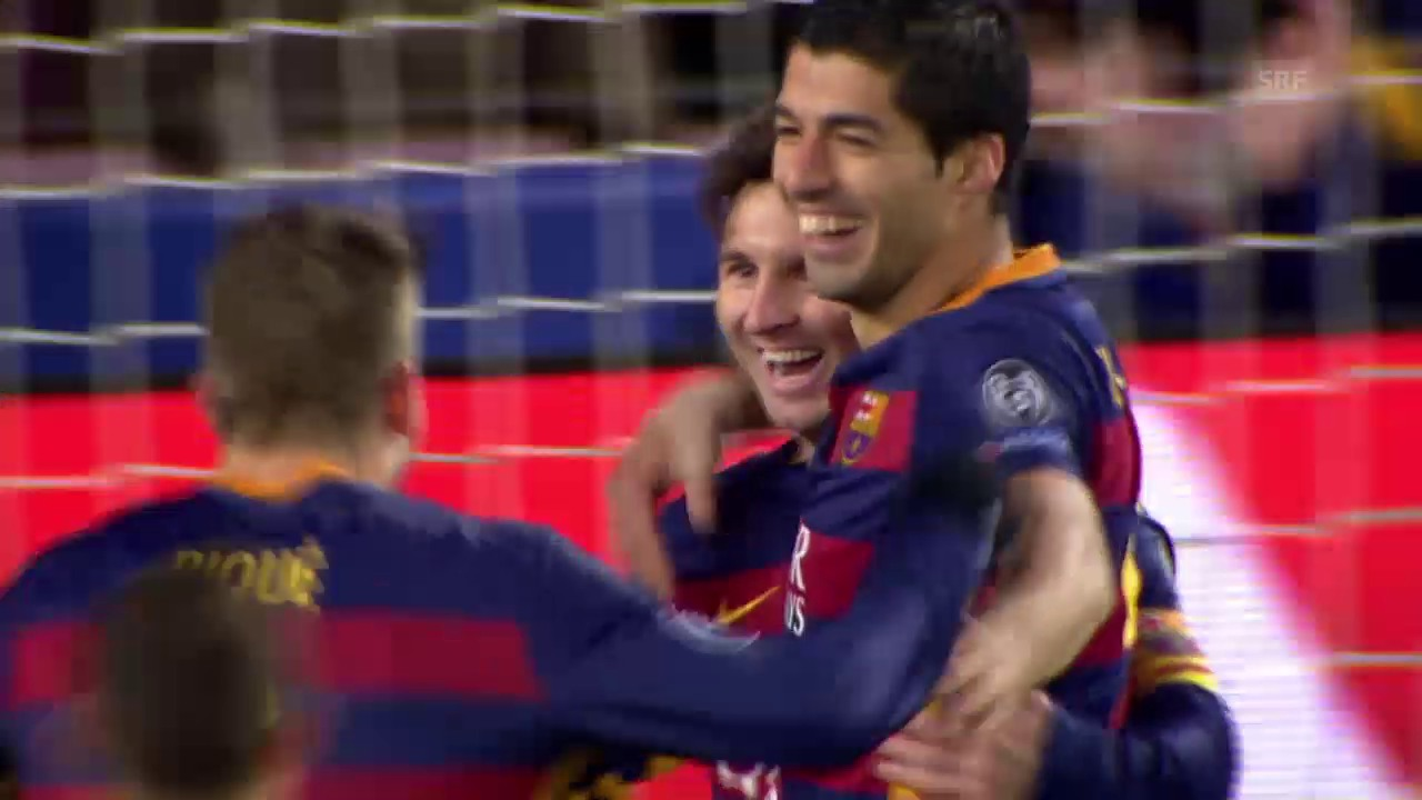 Fussball: Champions League, 5. Spieltag, Barcelona - Roma