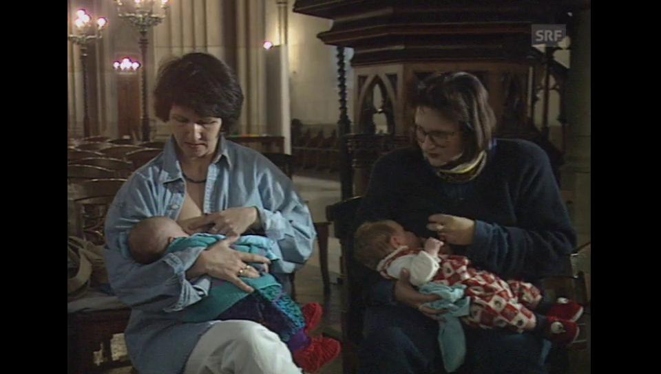 Aus dem Archiv: Die Offene Kirche Elisabethen 1995