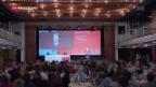 Video «Delegiertenversammlung der SP in Lausanne» abspielen