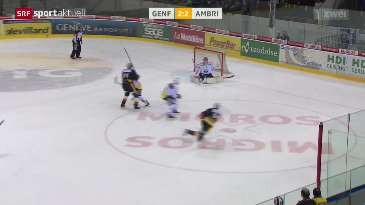 Eishockey: Genf - Ambri