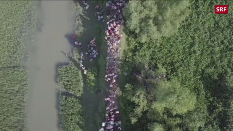 Link öffnet eine Lightbox. Video Bilder von der Grenze zu Bangladesch machen sprachlos abspielen