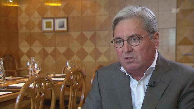 Video «Hariolf Kottmann, weshalb eine Fusion und keine Übernahme?» abspielen