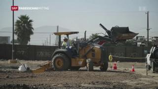 Video «USA baut Prototypen für Grenzmauer» abspielen