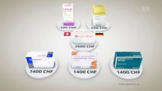 Video «Pharmaland Schweiz: Hunderte Medikamente fehlen» abspielen