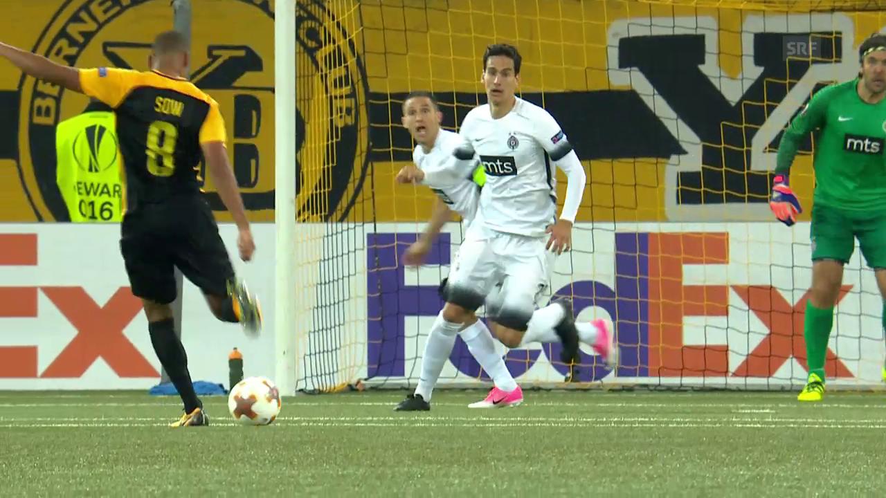 YB verpasst Sieg gegen Partizan Belgrad