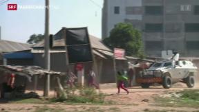 Video «Proteste in Bangladesch» abspielen