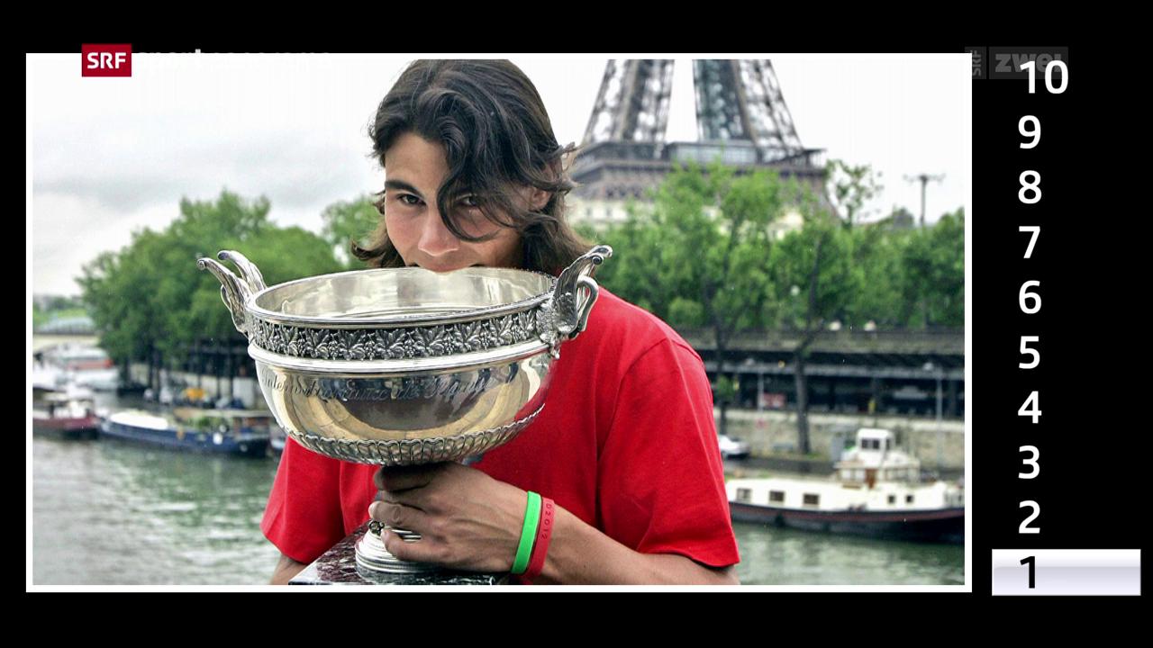 Nadal und Paris: Liebe auf den 1. Blick