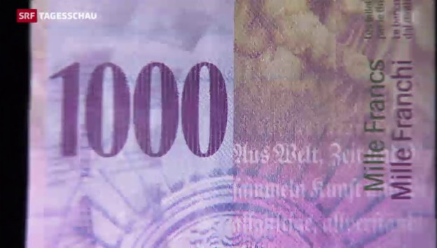 Video «Tausendernoten als Wertaufbewahrung» abspielen