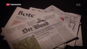 Video «Tamedia vereinheitlicht Zeitungsredaktionen» abspielen