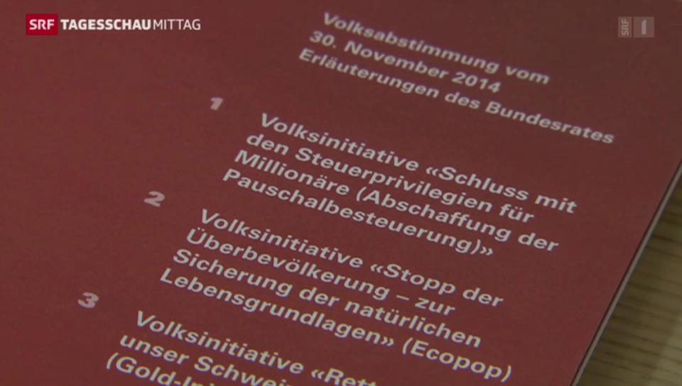 Bundesrat gegen Ecopop-Initiative
