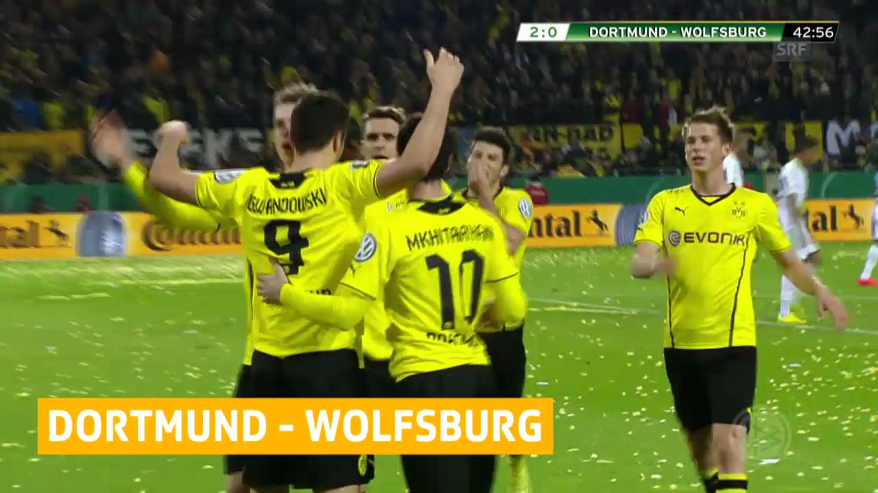 Dortmund erster Pokal-Finalist