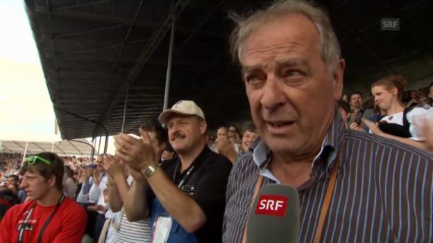 Video «Prominente über Schwingerkönig» abspielen