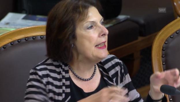 Video «Egerszegi: Deklarationspflicht ist völlig überrissen» abspielen