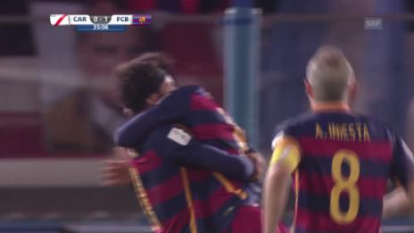 Video «Fussball: Final Klub-WM, 1:0 Messi» abspielen