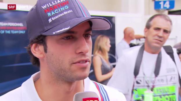 Video «F1: Felipe Nasr wird neuer Sauber-Pilot» abspielen