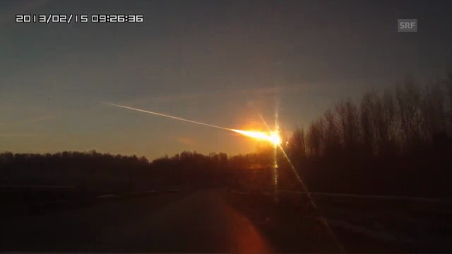Meteorit im Ural (Youtube)