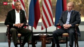 Video «Angespannte Stimmung zwischen USA und Russland» abspielen