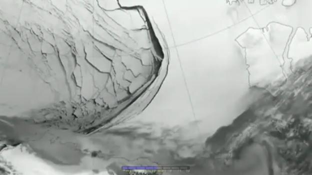 Video «Eisabbruch in der Beaufort See (ohne Ton)» abspielen