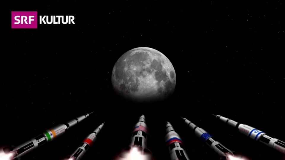 SpaceX will auch zum Mond: Das Wettrennen der privaten Anbieter